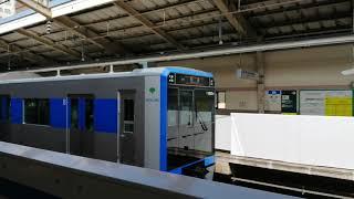都営三田線6500形試運転。西台駅発車。
