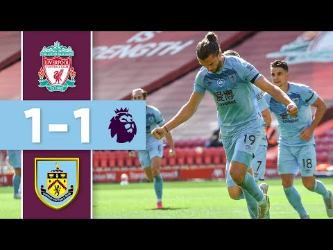 CLARETS END 100% HOME WIN RECORD | THE GOALS | Liverpool v Burnley