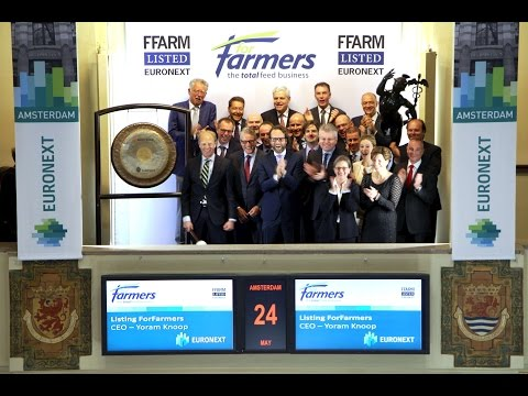 Euronext welcomes ForFarmers on Euronext Amsterdam