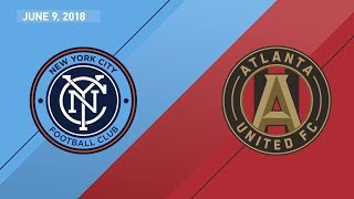 HIGHLIGHTS: New York City FC vs. Atlanta United FC | June 9, 2018