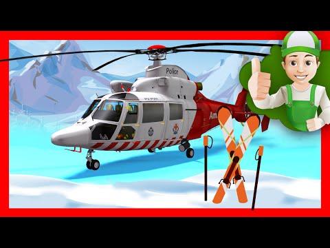 Развивающий мультик - Винтик спасает друзей Вертолётом. Мультики про машинки