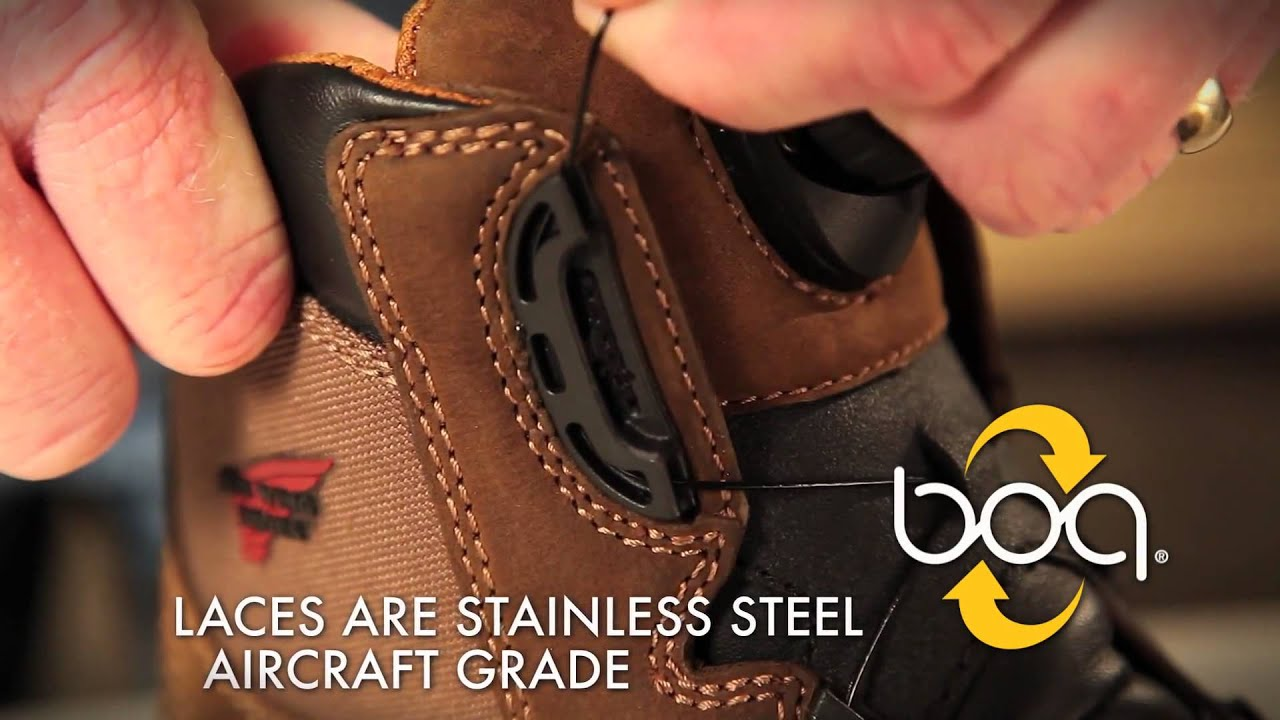 BOA Closure System_ Red Wing Shoes Chicago IL (Full HD) - YouTube
