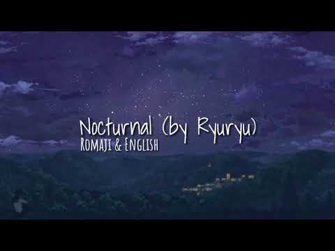 Hatsune Miku - Nocturnal by ryuryu (Romaji + English Translation)