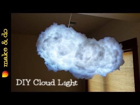 How To Make A Cloud Light That Changes Colors Diy
