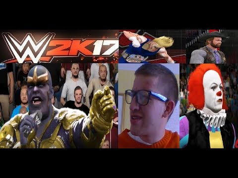 WWE 2k17 Episode I'm Going To Wrestlemania (CRAZY EPISODE)