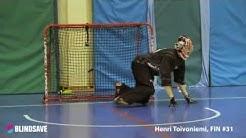 "BLINDSAVE goalie camp 2015 ""Game of Coaches"" - Henri Toivoniemi"