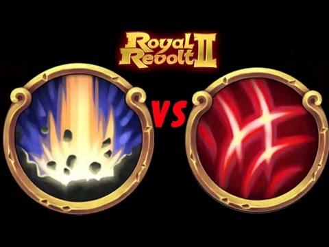 ROYAL REVOLT 2 - HAMMERSTRIKE Vs SONIC BLAST (spells Test)