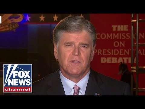 Hannity: President Trump 'steamrolled' Biden in first debate