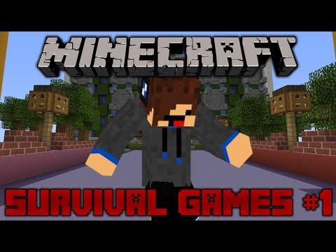 Minecraft Survival Games #1 - Got My Optifine CAPE!!!