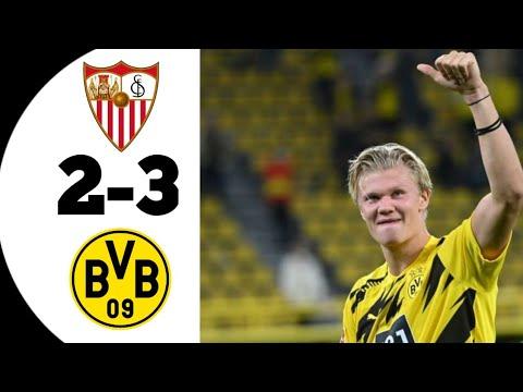 Sevilla Vs Dortmund 2-3 Extended Highlights \u0026 Goals 2021