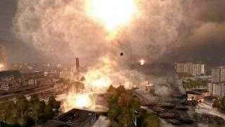 World In Conflict Space Needle Destroyed