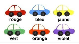 Учим цвета на французском языке. Обучающий мультик для детей