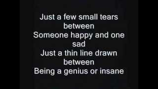Iron Maiden - The Thin Line Between Love and Hate Lyrics