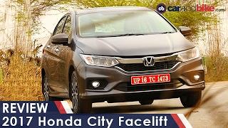 2017 Honda City Facelift Review – NDTV CarAndBike