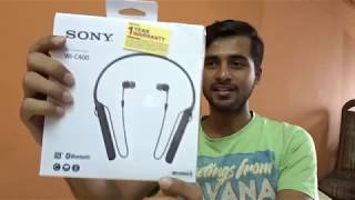 Technical Review #2 | Sony WI-C400 Bluetooth Headset