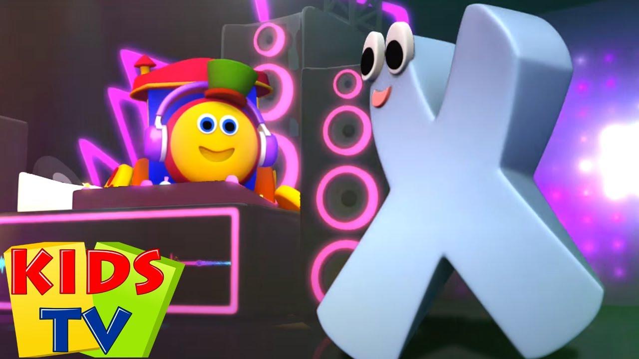 Bob si Kereta Lagu | Video edukasi | Fonik huruf X | Prasekolah | Kids Tv Indonesia | Lagu Anak