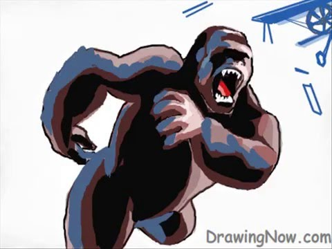How To Draw Kingkong Youtube