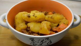 Тушеная картошка с тушенкой видео рецепт Бюджетно и вкусно