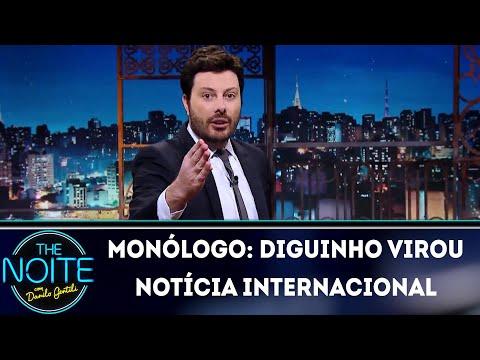 Monólogo: Diguinho virou notícia internacional | The Noite (05/06/18)