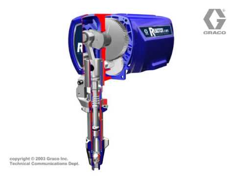 Graco Reactor Electric E Pump Lower.wmv