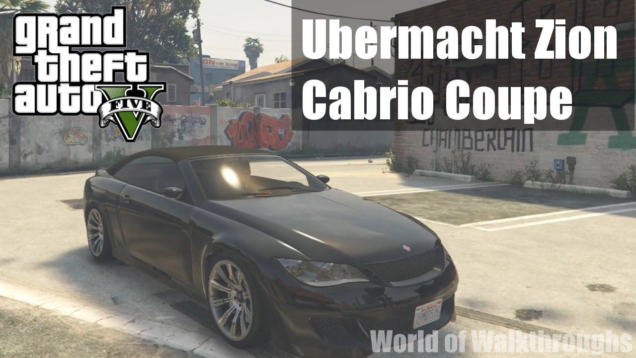 GTA V – Ubermacht Zion Cabrio Coupe [ GTA V CAR ] [ 1080p ... Ubermacht Zion Cabrio Gta 5