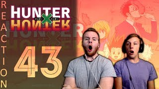 SOS Bros React - HunterxHunter Episode 43 - You Can't Spell Slaughter Without Laughter