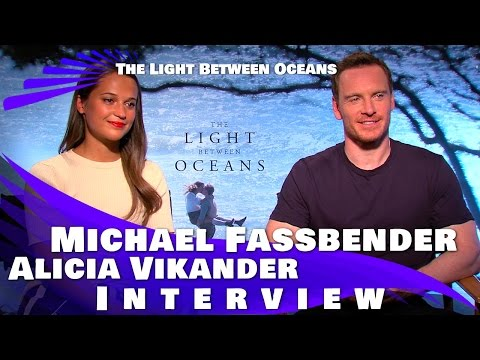 The Light Between Oceans - Michael Fassbender & Alicia Vikander Interview