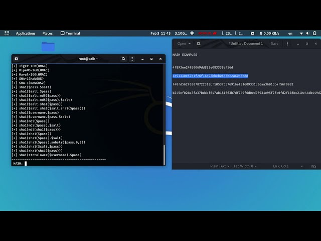 Hash-identifier | Identify the different types of hashes | Kali Linux 2020.1 (Tutorial)