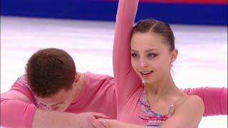 Александра Бойкова и Дмитрий Козловский лидируют на домашнем этапе Гран-при! Короткая программа