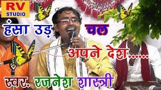 हंसा उड़ चल अपने देश जगत में कोई नहीं अपना रे//RAJNESH SHASTRI #rajneshshastri