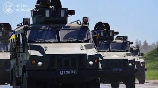 Военная техника на Параде ко Дню Независимости Украины 2018