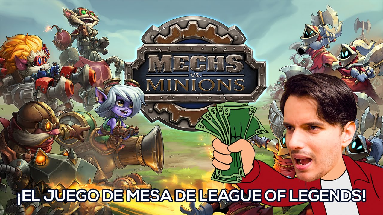 Mech Vs Minions El Juego De Mesa De League Of Legends Youtube
