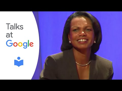 Dr. Condoleezza Rice | Talks at Google