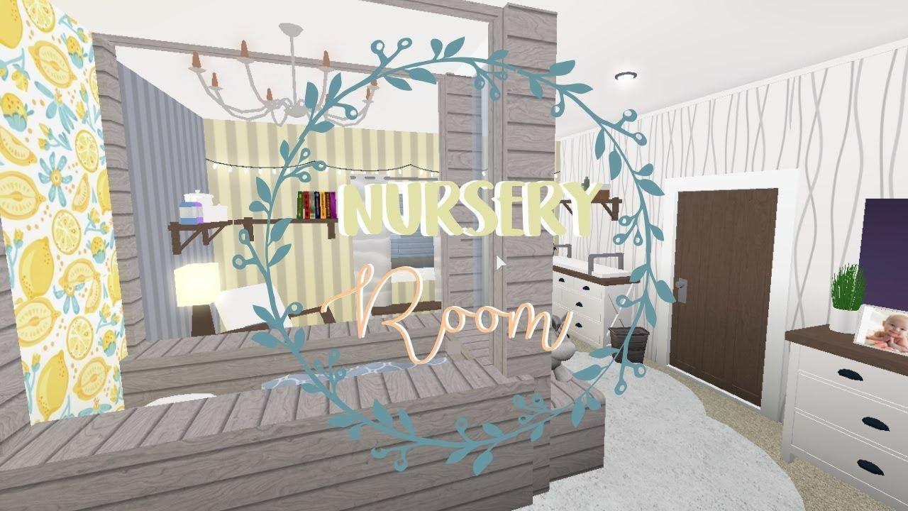 [BLOXBURG] Nursery Room (Speedbuild)