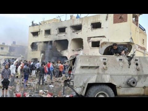 مصر: مقتل وإصابة العشرات في هجوم على مسجد بشمال سيناء