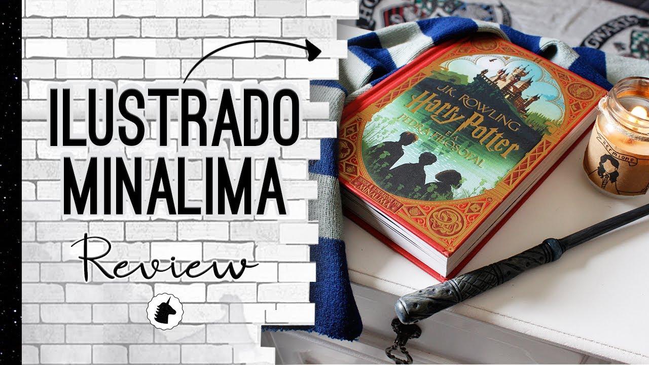 Harry Potter e a Pedra Filosofal Ilustrado MINALIMA - Review   Sneak Peek