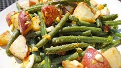 Roasted Green Bean and Potato Salad Recipe