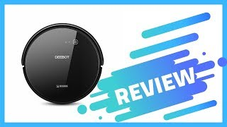 ECOVACS DEEBOT 601 Robotic Vacuum Cleaner Review