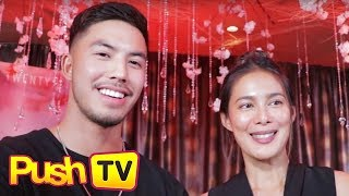 Push TV: 'Glorious' stars Angel Aquino and Tony Labrusca, all praises for each other