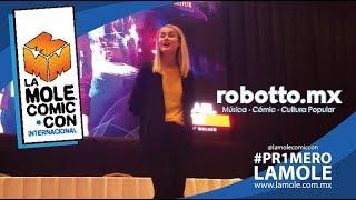 #Pr1meroLaMole | Conferencia de Rachael Taylor en La Mole Comic Con.