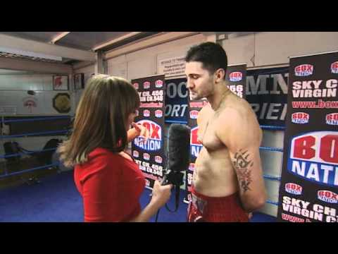Carol Vorderman interviews Nathan Cleverly