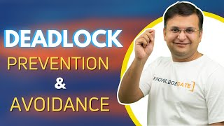 Part 4.1 Deadlock in operating system in hindi basic idea concept definition prevention avoidance