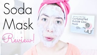Milky Piggy Carbonated Bubble Clay Mask Review!  {sweetbee}