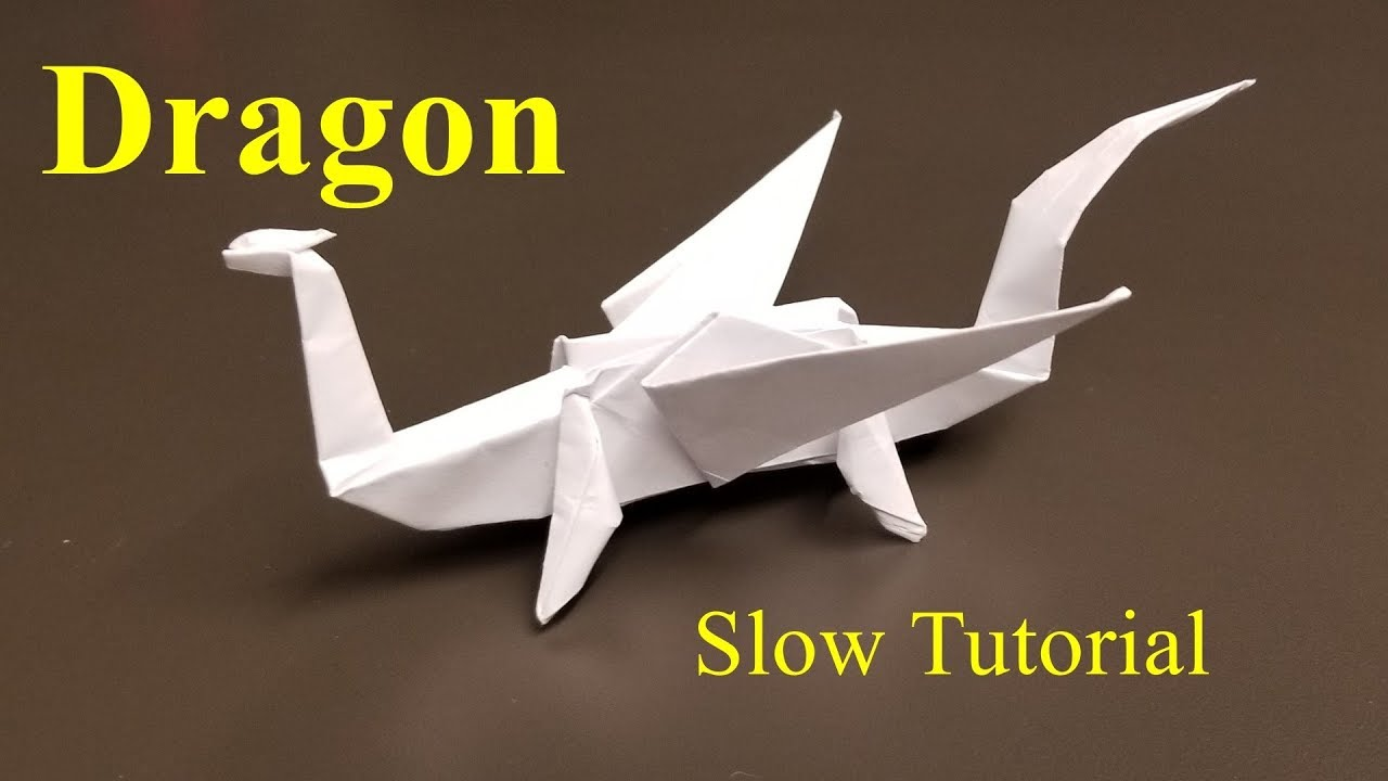 Simple Origami Dragon : 18 Steps (with Pictures) - Instructables | 720x1280
