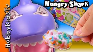 Japanese Gooey Shark Pops! Candy Making Kit Diy By Hobbykidstv