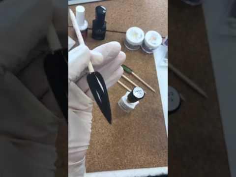 Học Nails mới mỗi tuần - Làm bông chrome và hologram nổi