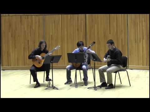 classical guitar trio: franz schubert ave maria