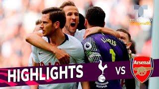 Tottenham vs. Arsenal: 1-1 Goals & Highlights | Premier League | Telemundo Deportes