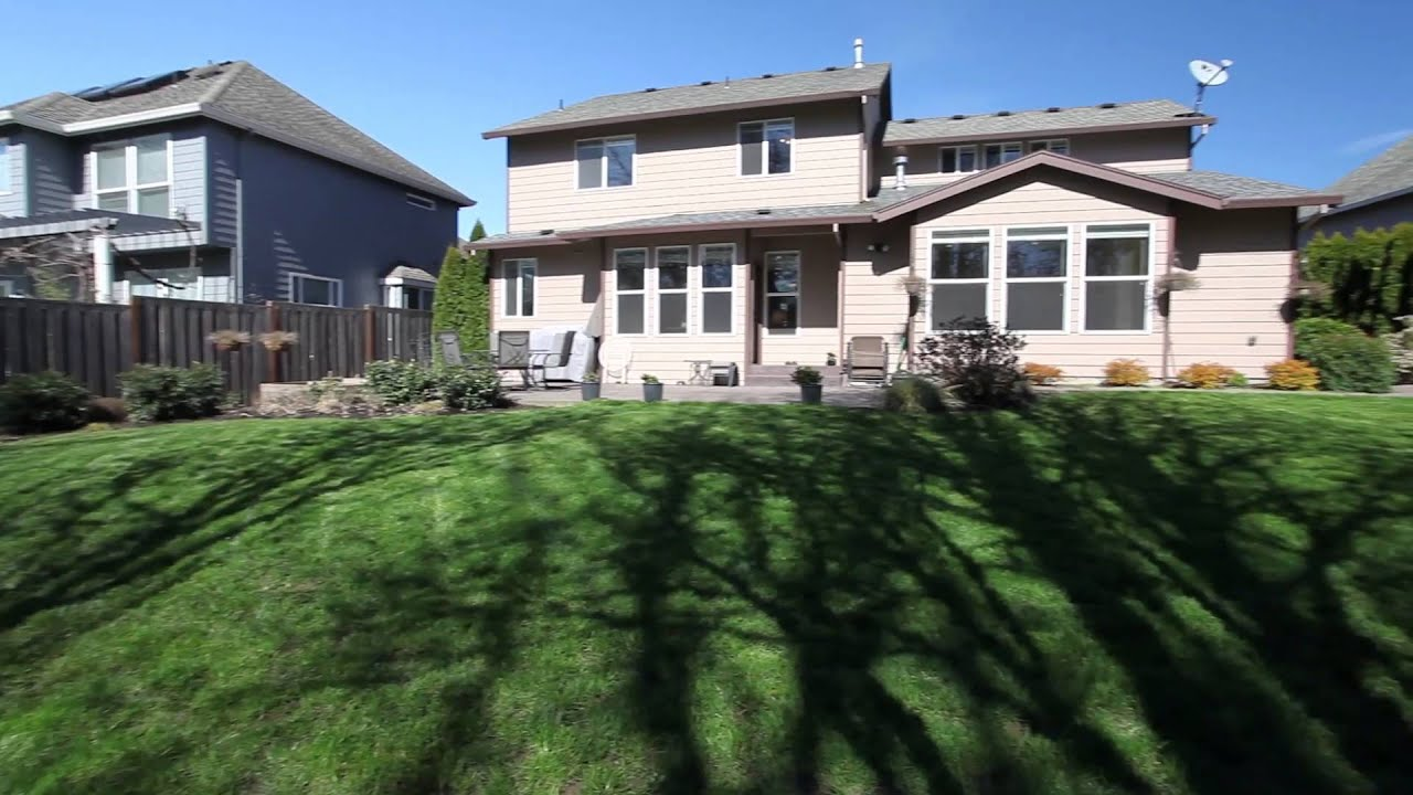 updated home with private backyard in bethany portland oregon