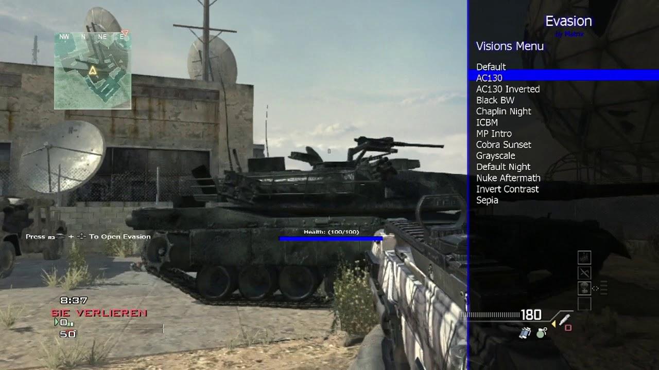 [MW3/PS3]Evasion Mod Menu Non Host / Host + Download / by Matrix Mods